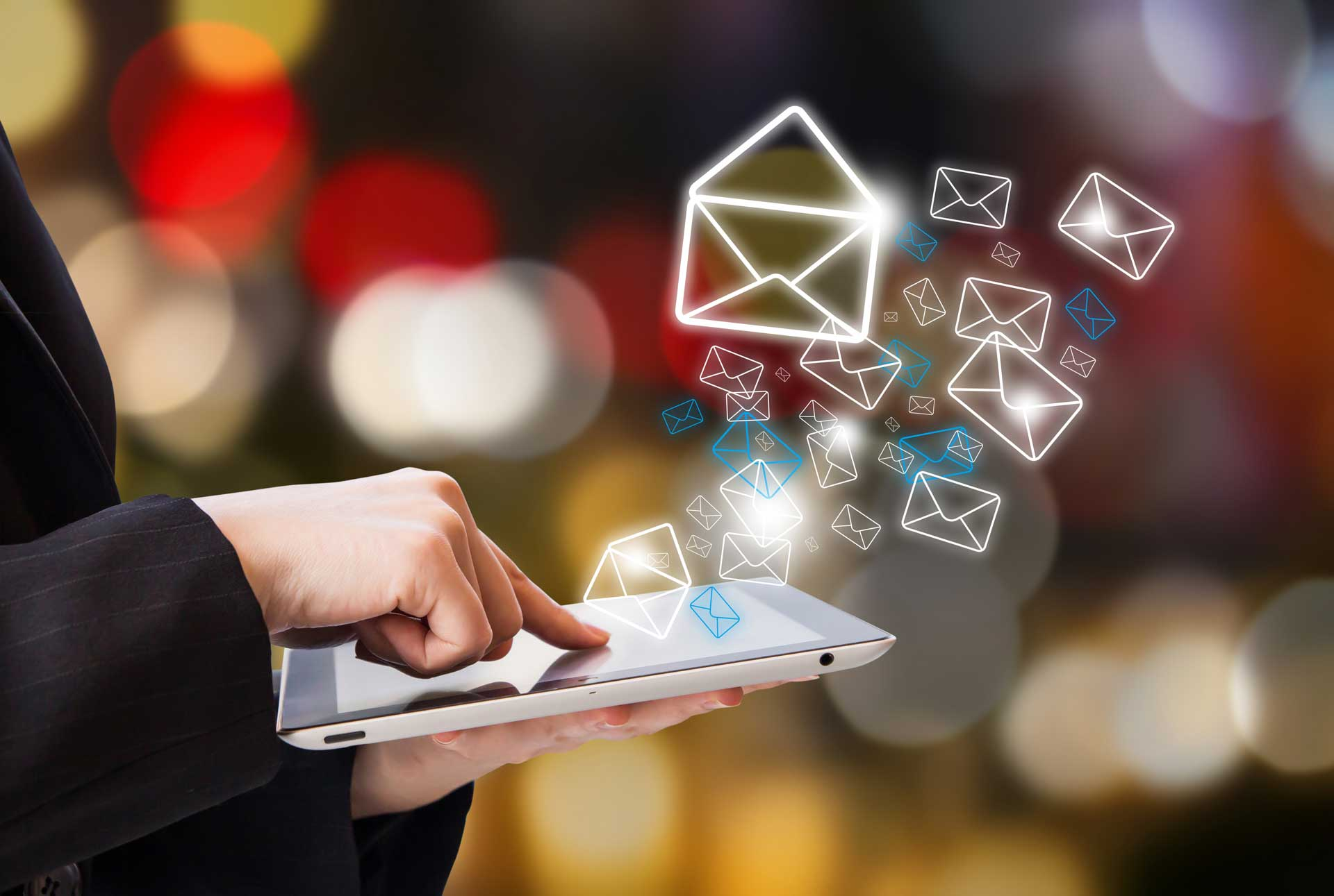 Types of email to send tour and activity customers