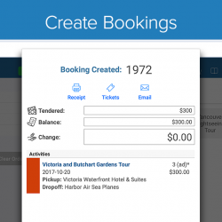 Zaui POS Android - Create Bookings