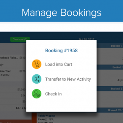Zaui POS Android - Manage Bookings