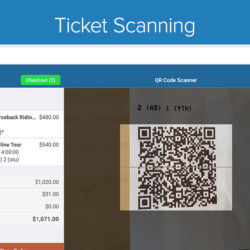 Zaui POS Android - Ticket Scanning