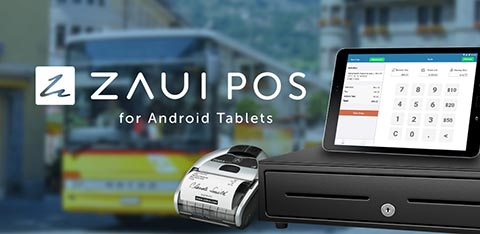 Zaui POS for Android Tablets