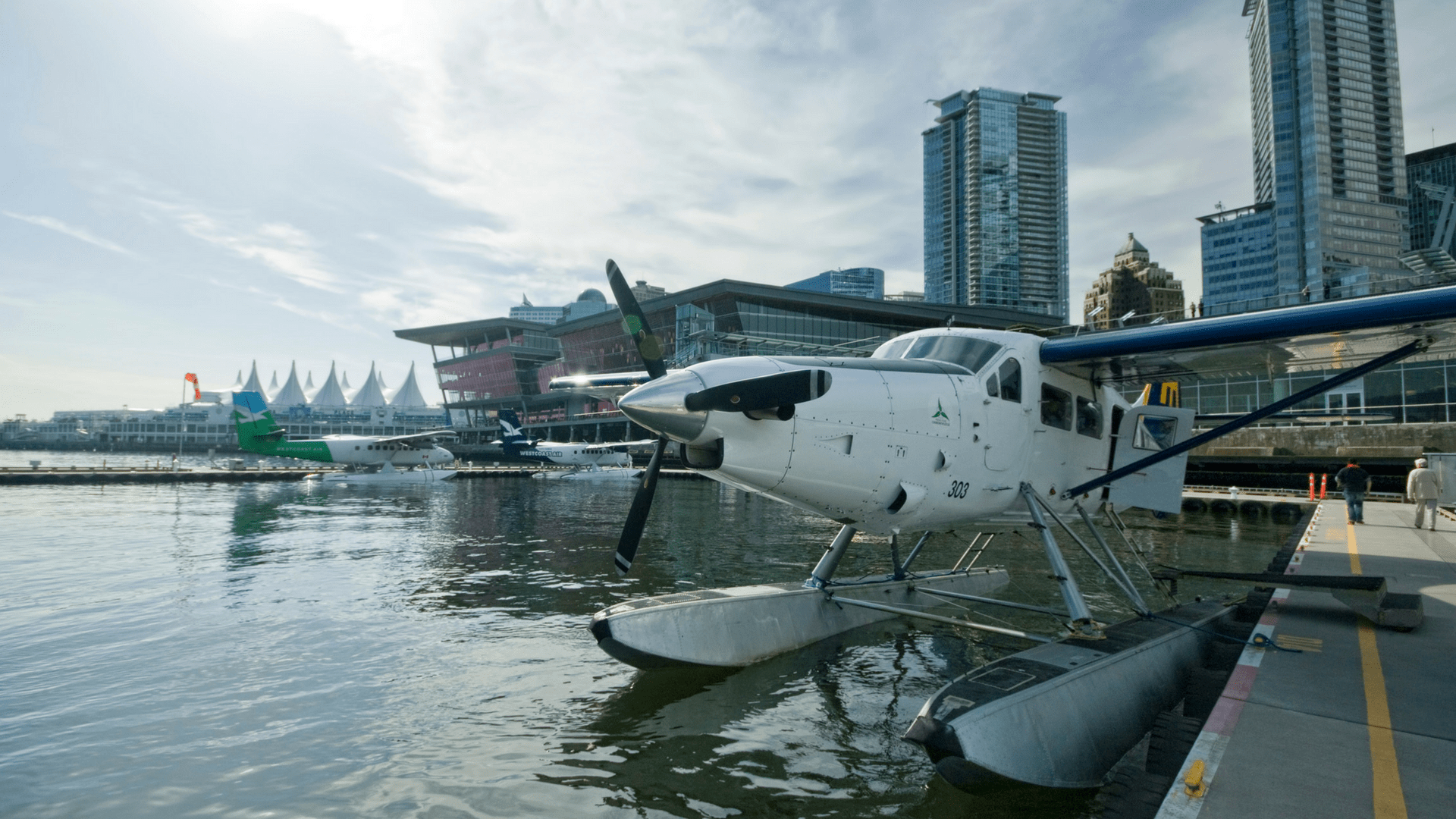 Zaui Connect and Harbour Air