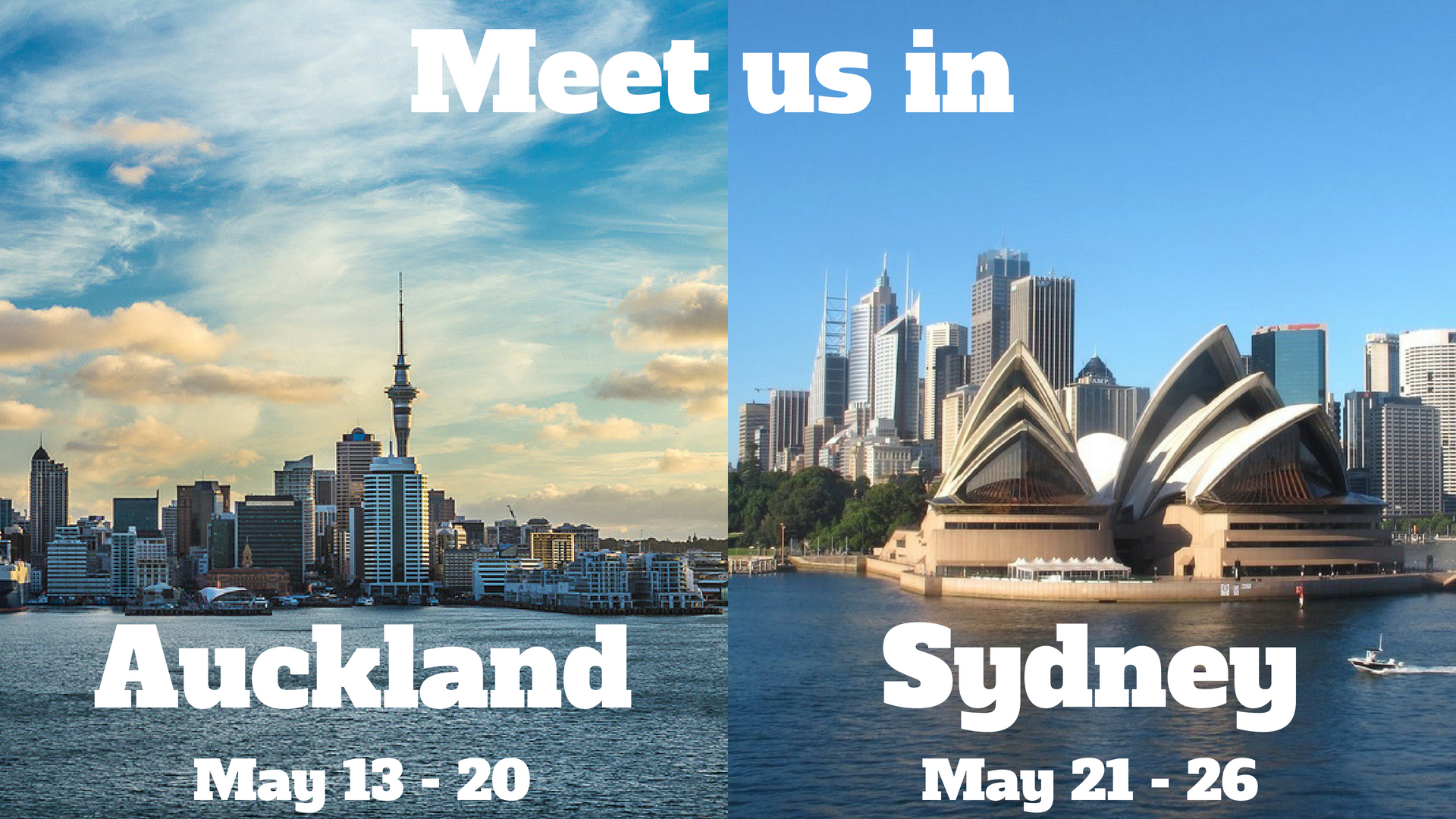 Meet Zaui in Auckland and Sydney