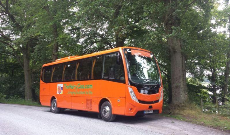 Zaui Tourism and Transportation Software - The Hairy Coo Tours