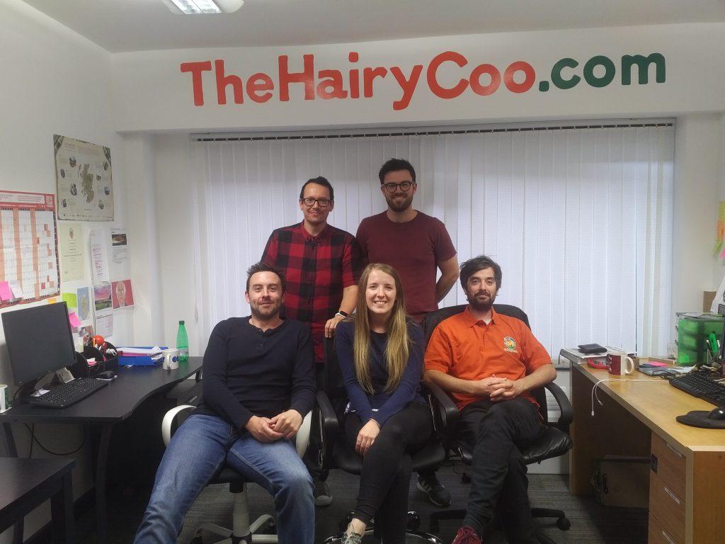 Zaui Tourism Software - The Hairy Coo Team