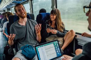 Zaui Software - Busbud - Online Travel Agency - Bus Passengers
