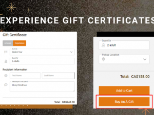 Spice Up Your Holiday Campaigns: Experience Gift Certificates