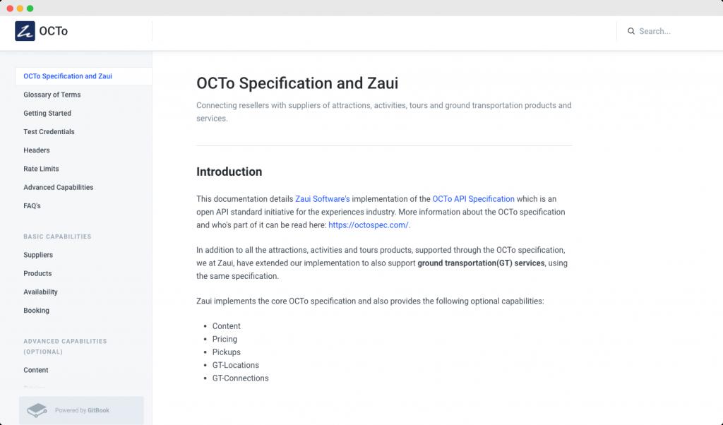 ZAUI developer document