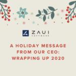 Holiday message from Zaui