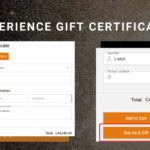 Gift certificate for tour, activity and transport operators
